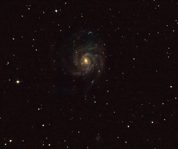 М101 - астрофотография