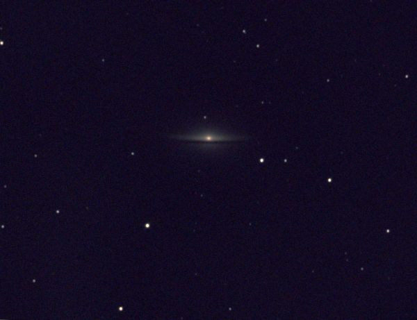 Sombrero Galaxy (M104) - астрофотография