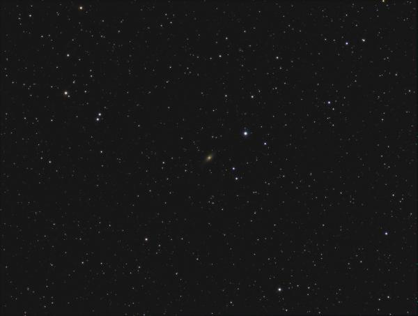 NGC7814 Little Sombrero galaxy RGB - астрофотография