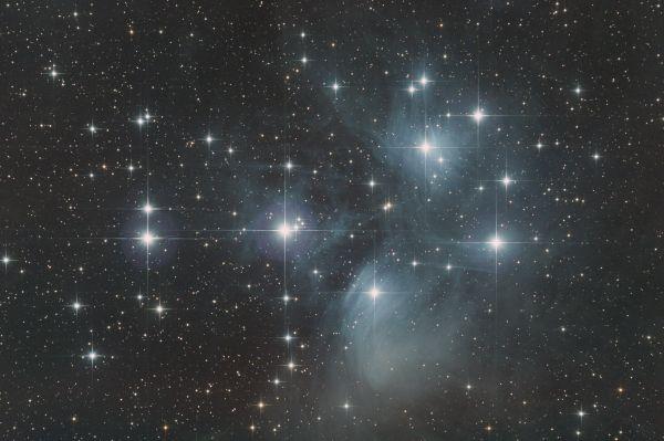 M45 - The Pleiades - астрофотография