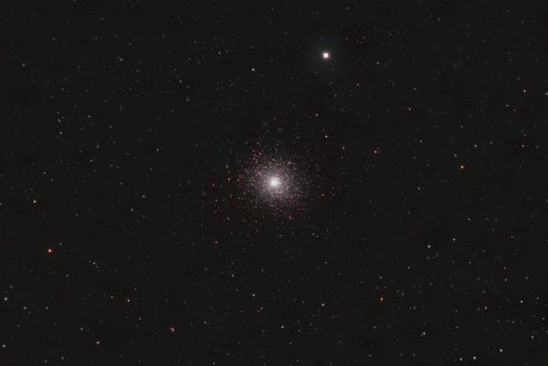 Шаровое скопление М5 - астрофотография