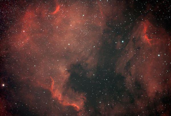 NGC7000 & IC5070. - астрофотография