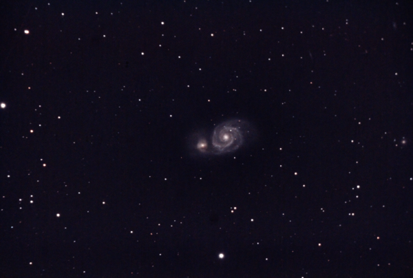 M51a - Whirlpool Galaxy - астрофотография