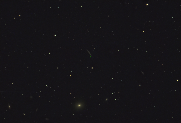 СВЕРХНОВАЯ 2021HIZ В ГАЛАКТИКЕ IC 3322A В СОЗВЕЗДИИ ДЕВА! - астрофотография
