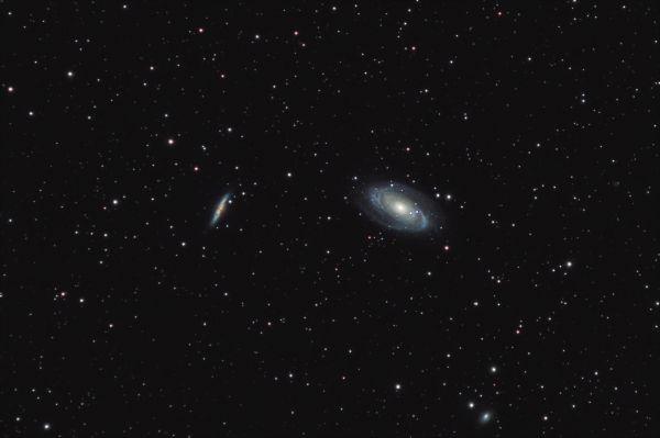 M81 и M82 (Боде и Сигара) - астрофотография