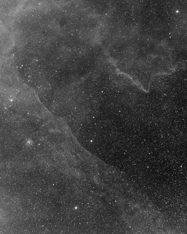 Puppis region. H-alpha - астрофотография