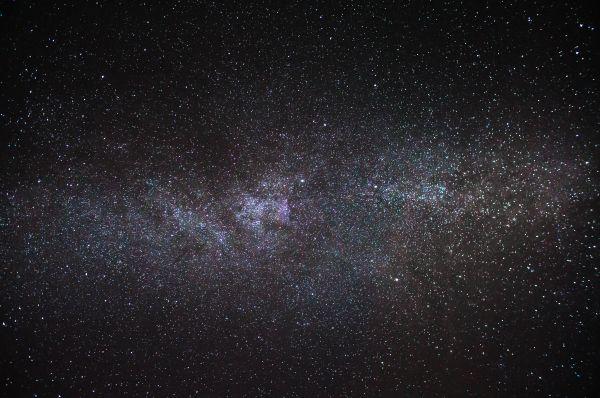 Часть Млечного пути - астрофотография