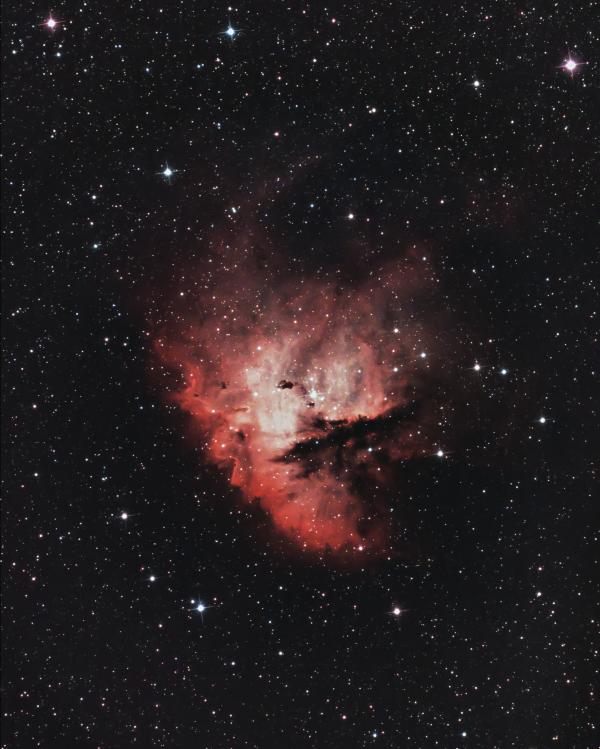 Туманность Пакман (NGC 281) - астрофотография