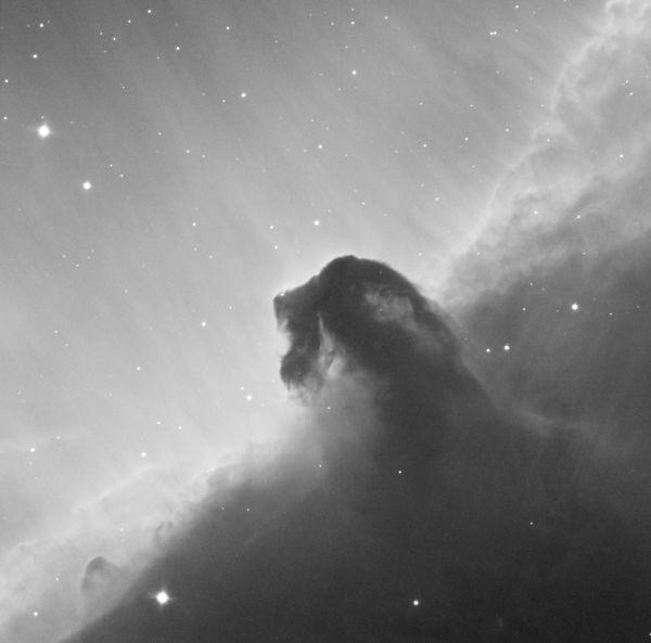 IC434 Ha - астрофотография