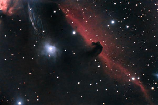 The Horsehead Nebula - астрофотография