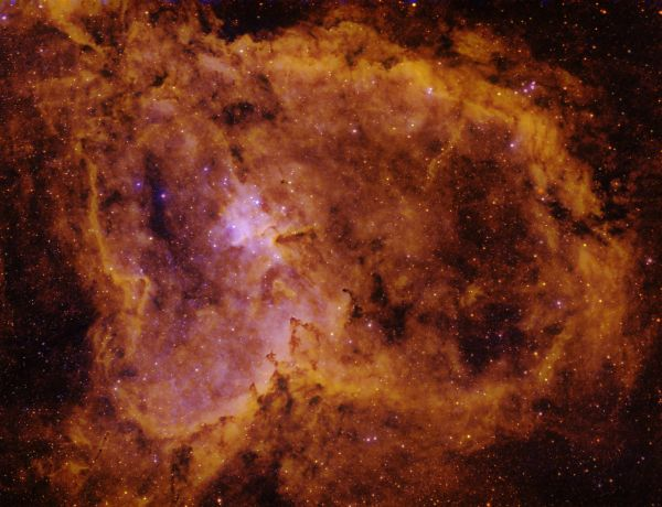 IC805 Туманность Сердце - астрофотография