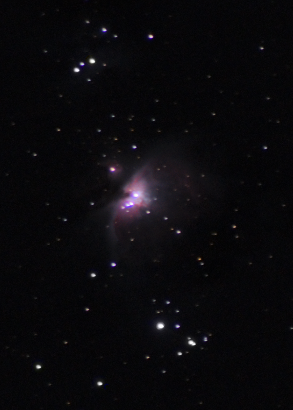 The Heart of Orion Constellation - астрофотография