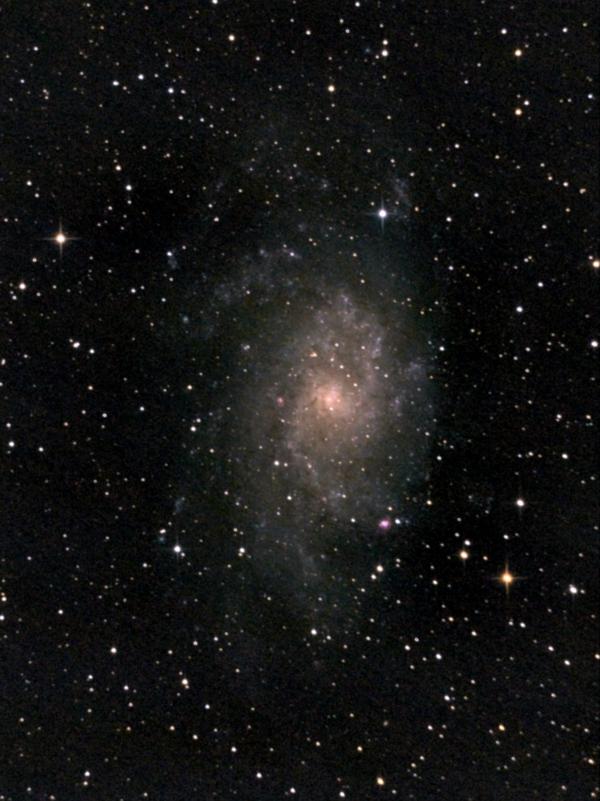 Галактика М33 в Треугольнике. 04,09,2021 и 11.09.2021 - астрофотография