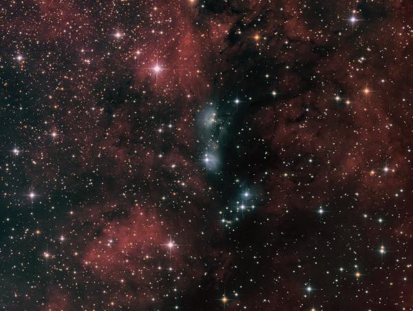 NGC6914/vdB132 (Reflection Neb.) in Cygnus Ha_LRGB - астрофотография