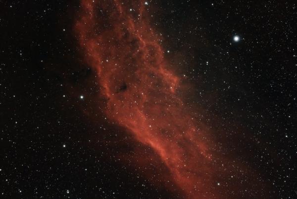 Туманность Калифорния - астрофотография