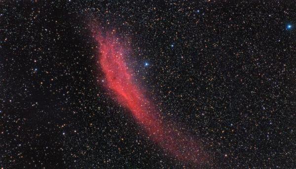 NGC 1499 (Калифорния) 16-01-2020 - астрофотография