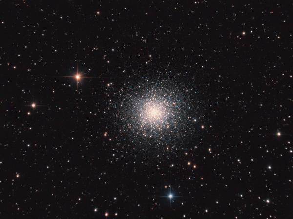M13 - Great Globular Cluster in Hercules - астрофотография