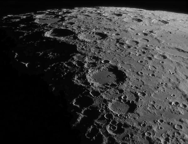 кратер Лонгомонтан, 200714 - астрофотография