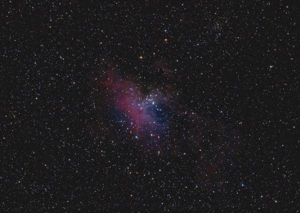 Eagle Nebula - M16 - астрофотография