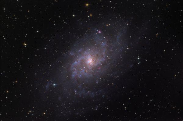 M33 - астрофотография