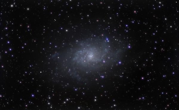 M33 Triangle galaxy - астрофотография