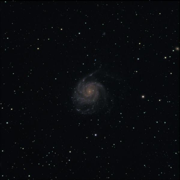 M101 - галактика Вертушка - астрофотография