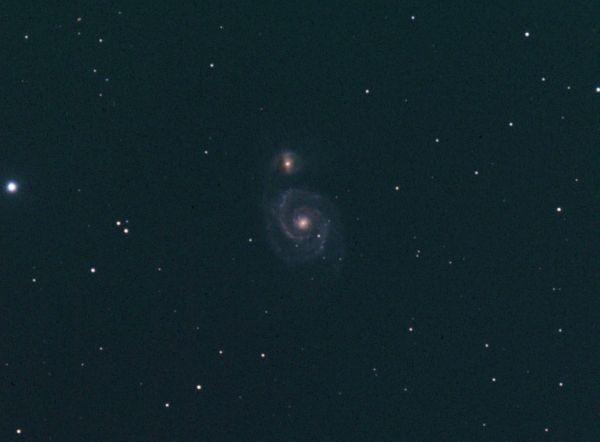 M51 2h53 df - астрофотография