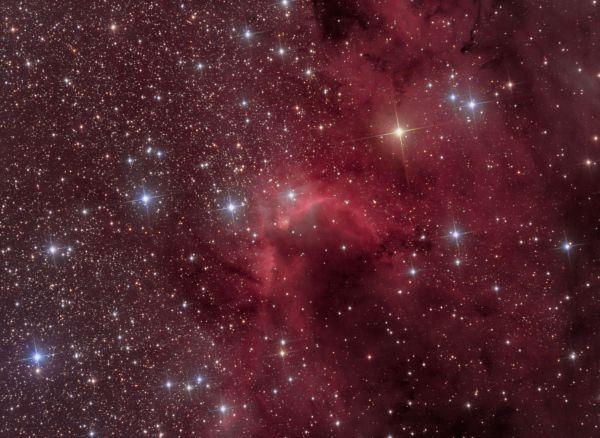 SH2-155 Пещера - астрофотография