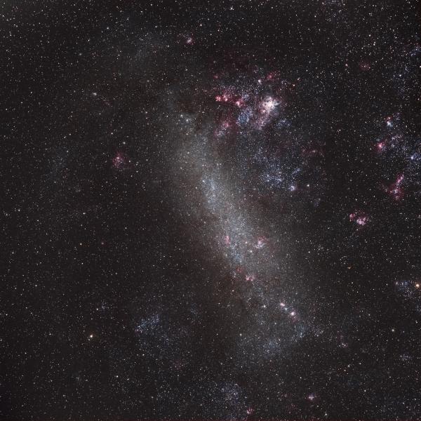 Большое Магелланово Облако - астрофотография