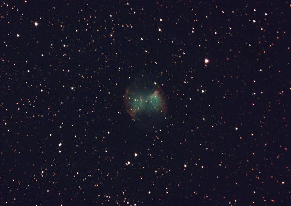 М27. Планетарная туманность Гантель - астрофотография