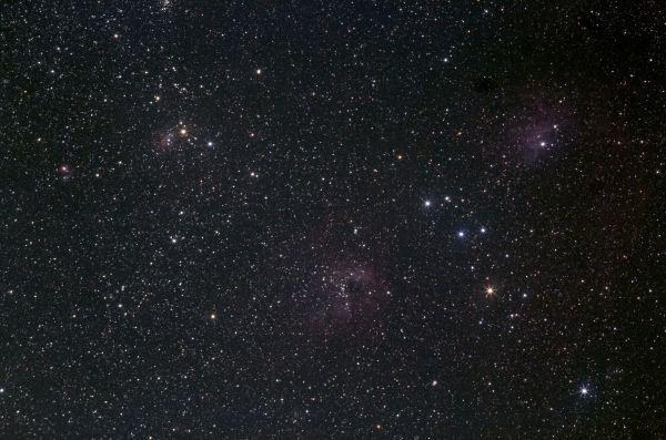 NGC1893 - астрофотография