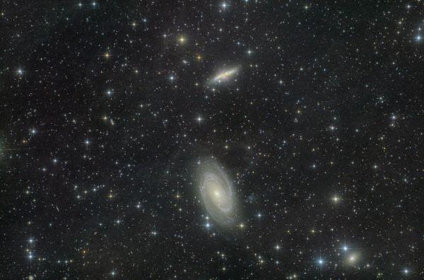 Галактика Боде - астрофотография