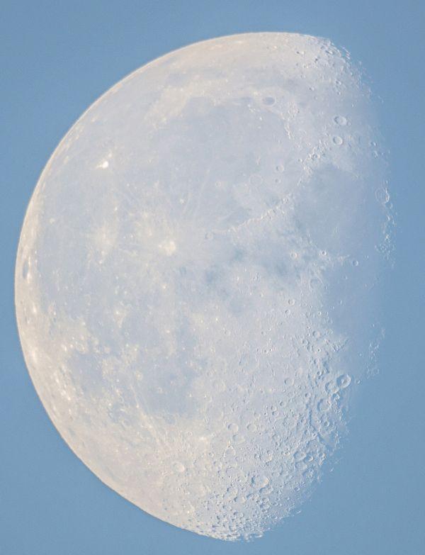 Луна утром 29.07.2021 - астрофотография