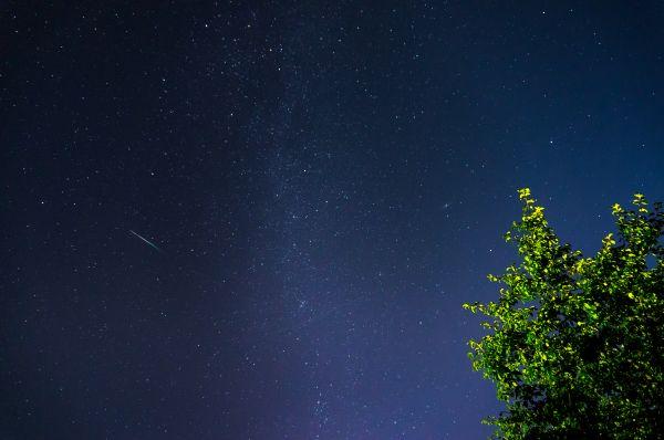 Персеид и Млечный путь 2020 - астрофотография