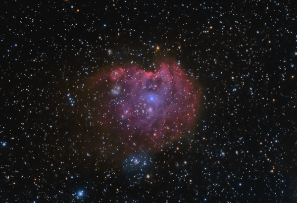 NGC 2174/2175 - астрофотография
