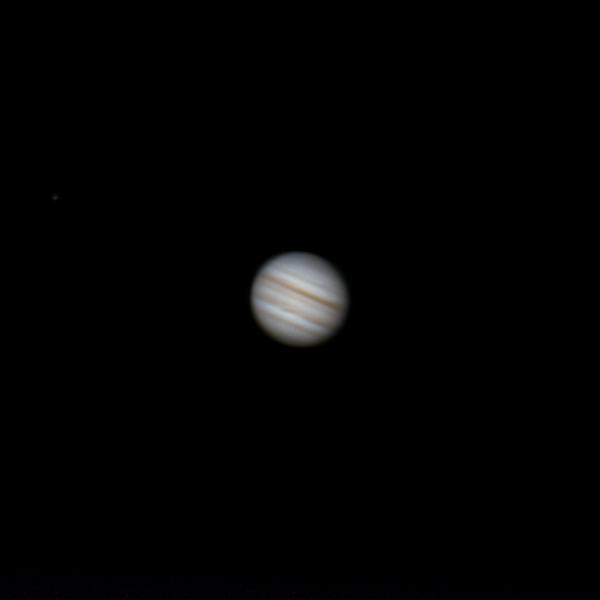 Юпитер и Ио.  - астрофотография