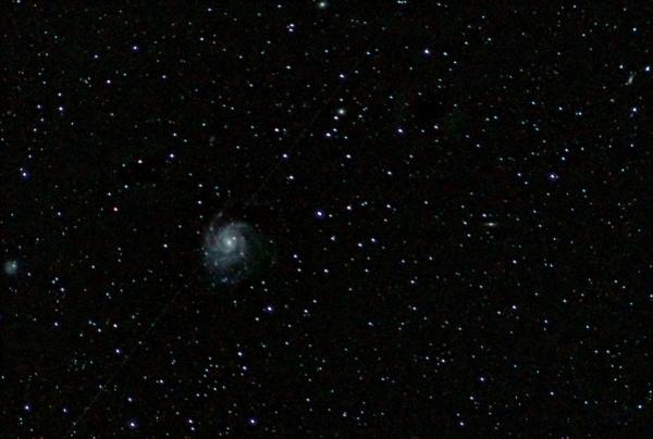 """Галактика """"Вертушка"""" М101. 26.04.20 - астрофотография"""