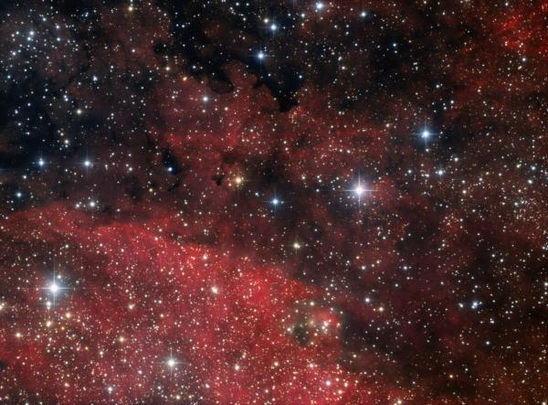 vdB 130 in Cygnus Ha_RGB - астрофотография