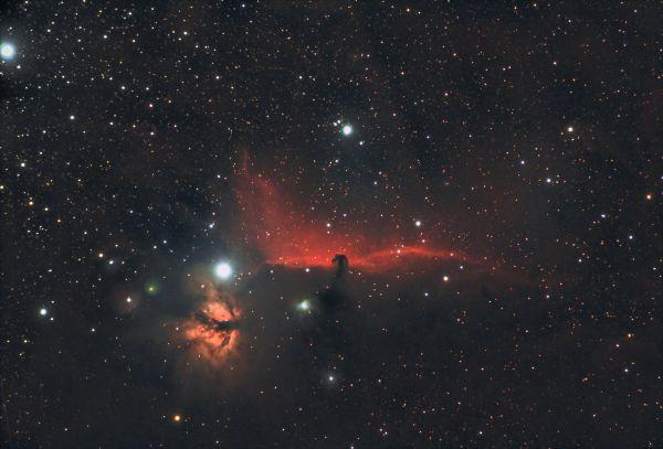 Туманность Конская голова - Barnard 33 - астрофотография