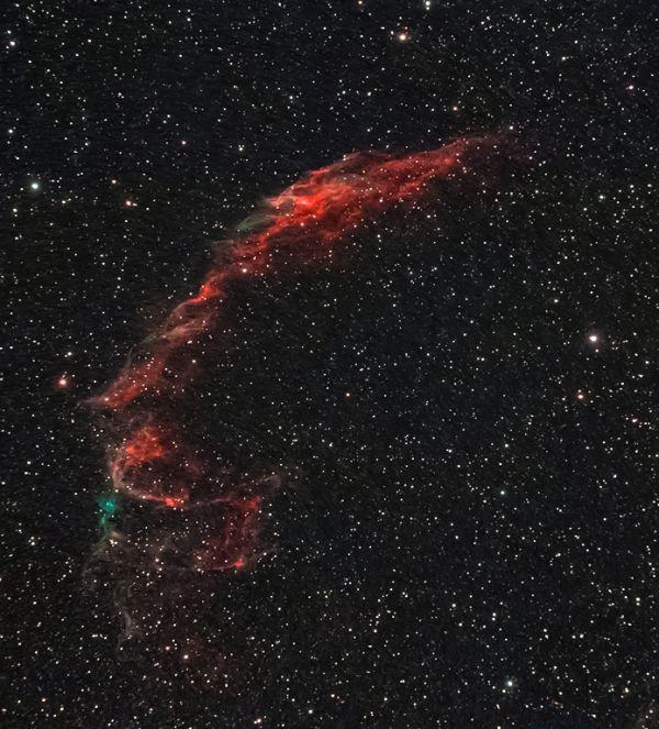 NGC 6992 - астрофотография
