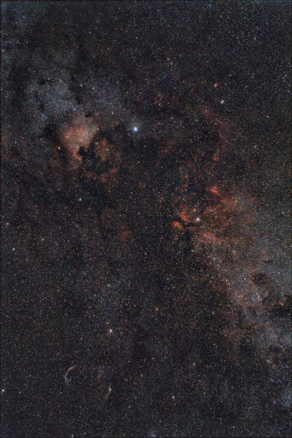 Млечный Путь в Лебеде - астрофотография