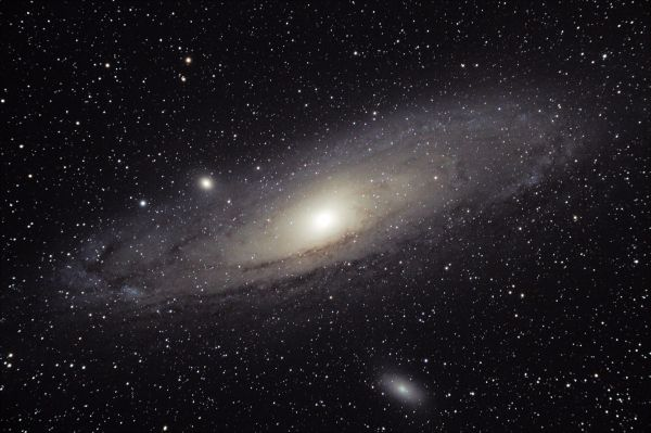 M31 Галактика Андромеды - астрофотография