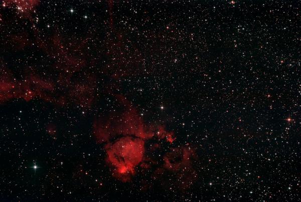 """IC 1795 """"рыбья голова"""" - астрофотография"""
