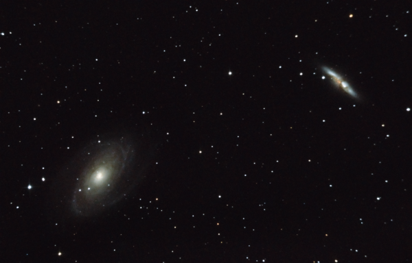 M81 & M82 - астрофотография