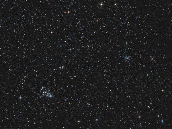 Open Clusters M103 & Trumpler 1 - астрофотография