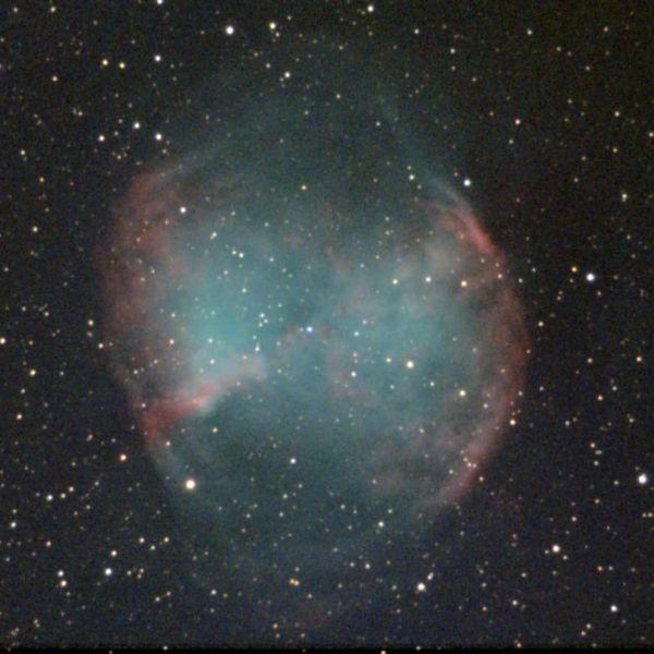 M27 - Гантель - астрофотография