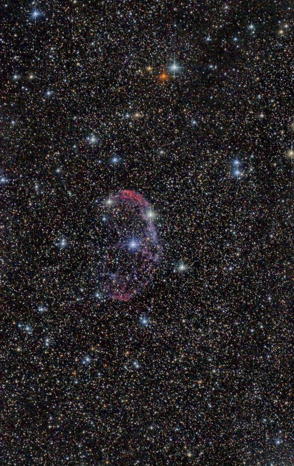 NGC6888. Туманность Полумесяц. - астрофотография