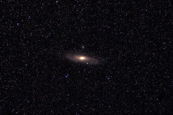 Галактика Андромеда. M31. 15.09.2020 - астрофотография