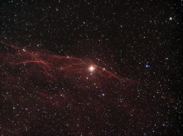 Filaments around 32 Cygny HaRGB - астрофотография