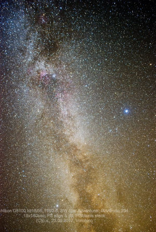 МП - астрофотография